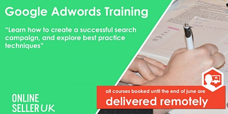Google Adwords PPC Training Course - Manchester tickets