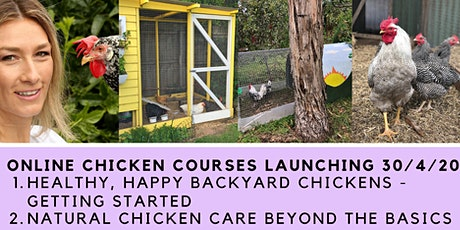 Healthy, Happy BACKYARD CHICKENS - Getting Started. ONLINE Course tickets