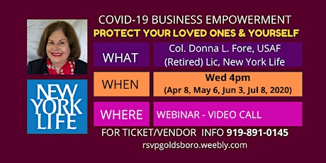 COVID-19 Business Empowerment: Protect Your Loved Ones and Yourself tickets