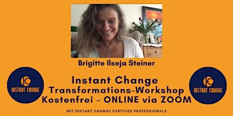 *NEU* Kostenfreier Transformations-Workshop mit Instant Change  Tickets