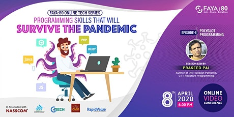 Programming Skills that will survive the Pandemic. Ep1 Polyglot Programming tickets