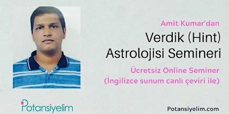 Verdik (Hint) Astrolojisi tickets