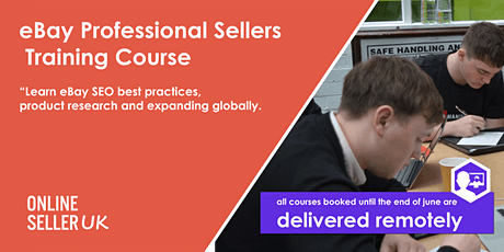 eBay Training Course for Professional Sellers - London tickets