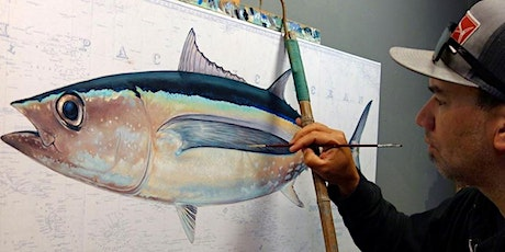 Learn to Draw Fish with Salty Crew Artist Amadeo Bachar tickets