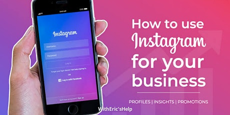 Expand Your Business Through Instagram (1:1 via Zoom)  tickets
