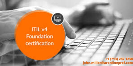 ITIL® V4 Foundation 2 Days Certification Training in Minneapolis, MN,USA tickets