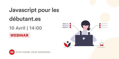 [Webinar] Javascript pour les débutant.es tickets