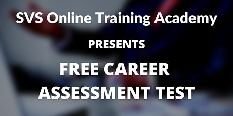 Free Career Assessment Test tickets