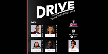 DRIVE Business Transformation Summit tickets