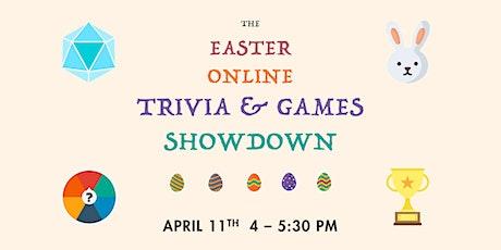 Easter Online Trivia & Games Showdown tickets