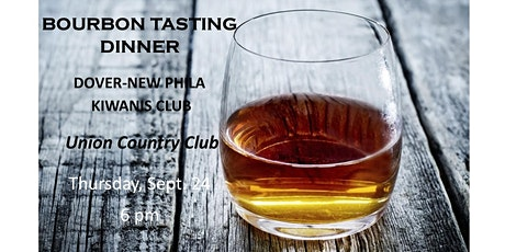Kiwanis Bourbon Tasting Dinner tickets