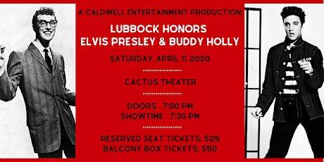 Lubbock Honors Elvis Presley & Buddy Holly tickets