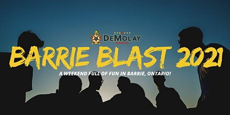 BARRIE BLAST 2021 HOSTED BY BARRIE DEMOLAY tickets