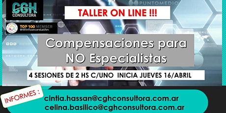 Curso: Compensaciones para No especialistas - 100% On-line para LATAM entradas