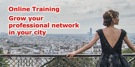 Online Training: Grow your professional network in your city tickets