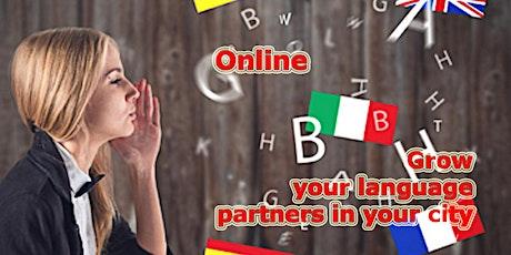 Language Partners Online tickets