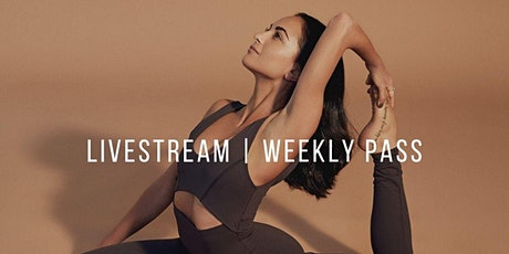 LIVESTREAM STAY HOME YOGA WITH BEE BOSNAK | WEEKLY PASS PLUS REPLAYS tickets