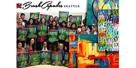 ONLINE Painting Class: Abstract Paint session! (06-26-2020 starts at 6:00 PM) tickets