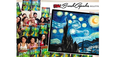 ONLINE Painting Class: Van Gogh's Starry Night! (08-30-2020 starts at 4:30 PM) tickets
