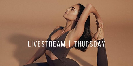 THURSDAY | LIVESTREAM STAY HOME YOGA WITH BEE BOSNAK tickets