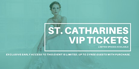 Opportunity Bridal VIP Early Access St. Catharines Pop Up Wedding Dress Sale tickets