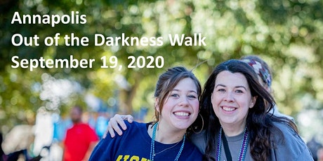 Annapolis Out of the Darkness Walk tickets