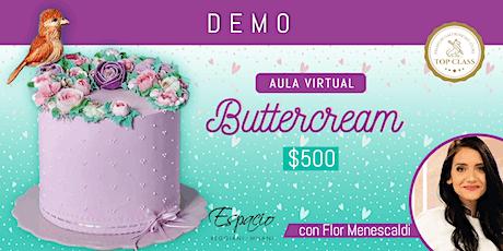 Demo Online BUTTERCREAM con FLORENCIA MENESCALDI entradas