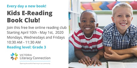 VLC Kids E-Reading Book Club Greater Victoria - Reading Level Grade 3 tickets