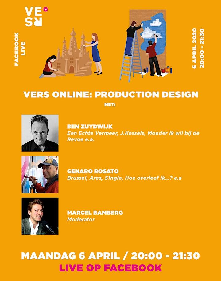 Afbeelding van VERS Online: Production Design