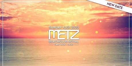 METZ on the Beach - Start of the summer tickets