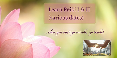 Reiki Level I & II Course (various dates) tickets