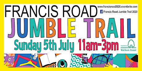 Francis Road Jumble Trail 2020 tickets