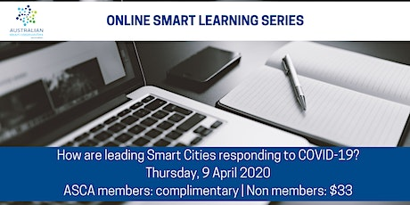How are leading Smart Cities responding to COVID-19? tickets