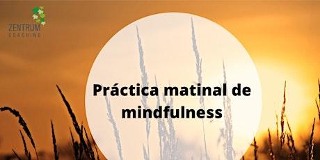 Webminar Ritual de Mindfulness entradas