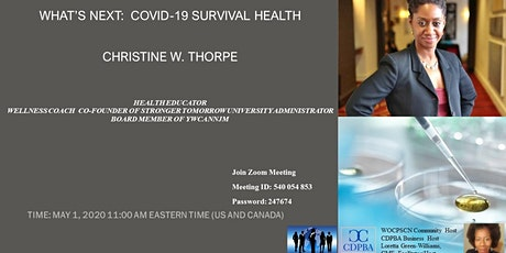 What's Next:  COVID-19 Survival Health tickets