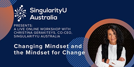 Changing Mindset and the Mindset for Change with Christina Gerakiteys 90min tickets