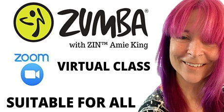 Monday 6 pm Virtual Zumba® Class via Zoom tickets