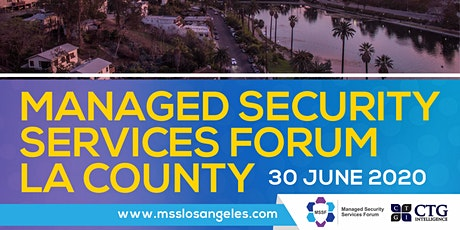 Managed Security Services Forum Los Angeles County bilhetes