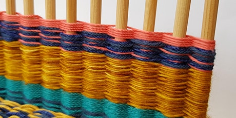 Weaving Workshop - Woven Table Runner using a Peg Loom with Agnis Smallwood tickets