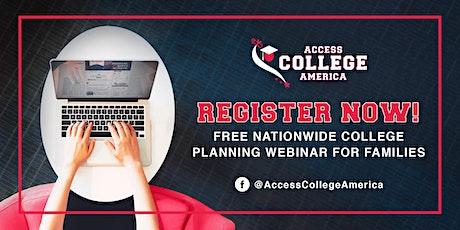Webinar: College Planning 101 tickets
