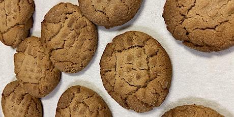 Annie's Virtual Baking class- Gluten free  Chocolate chip & PB cookies tickets