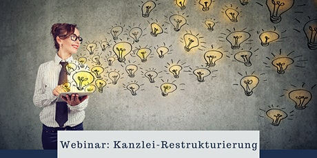 Webinar: Kanzlei Restrukturierung  Tickets