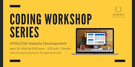 HTML/CC Website Development Workshop Tickets