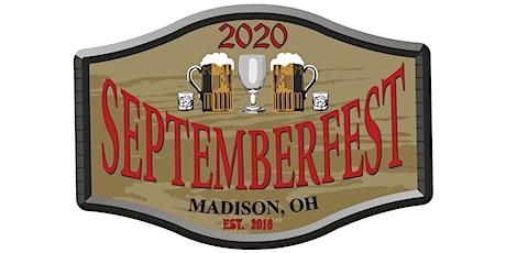 Septemberfest Beer, Wine and Spirits Festival tickets