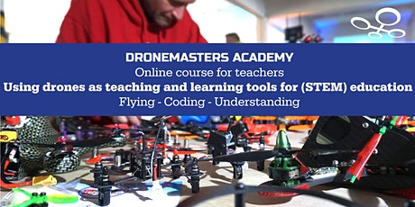 Online training for teachers - using drones and robots in (STEM) education Tickets