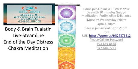 Chakra Meditation Online tickets