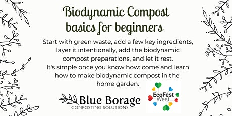 Making biodynamic compost: basics for beginners tickets