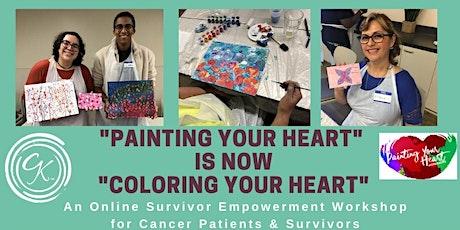 Cancer Kinship Survivor Empowerment: Coloring Your Heart Virtual Workshop tickets