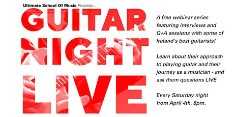 USOM Presents GUITAR NIGHT LIVE Ep 2: Niwel Tsumbu tickets