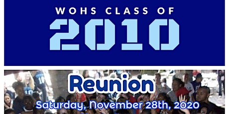 WOHS 2010 Reunion tickets